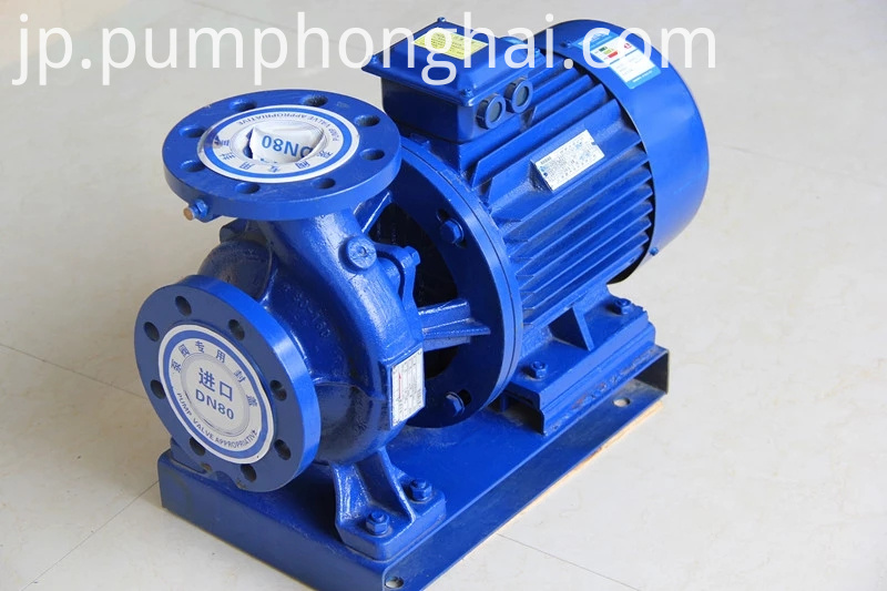Industrial Electric Motor Centrifugal Water Pump 2