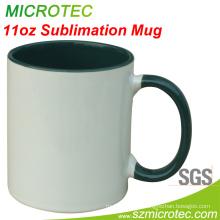 11oz Two Tone Coated Mug (MT-B002H)