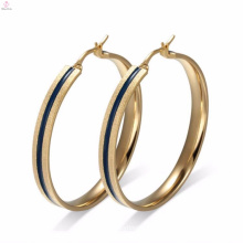 High End Gold Enamel Earring Jewelry Accessory For Black Women