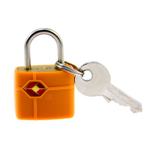 Tsa389 Padlock Brass Rubber-Covered
