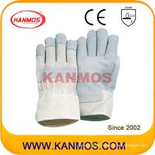 Verkaufen Schwein Split Best Leder Industrial Hand Sicherheit Arbeitshandschuhe (21004)