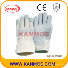 Продайте Свинья Сплит Лучшие кожаные рабочие перчатки безопасности ручной работы (21004)