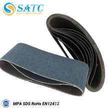 Black Silicon Carbide Sanding Belt for Wood Metal Wide Belt Polishing Machine