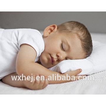Großhandels100% Baumwolle weißes weißes Microfiber bequemes Kinderkissen
