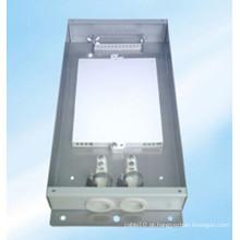 Caixa de terminais de fibra óptica inoxidável