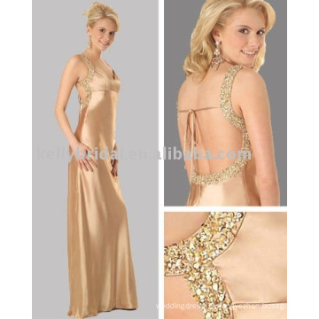 engagement and Sexy Evening dress with shiny beads