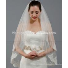 Nouvelle mariée voile essentiel mariée accessoires de mariage dentelle voile de mariée longue