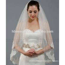New bride essential veil bride wedding accessories lace wedding veil long