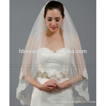 Braut-Hochzeitszusatzspitzehochzeitsschleier der neuen Braut wesentlichen Schleierlang