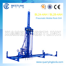 Mobile Rock Drill Horizontal Line Drilling Machine for Drilling