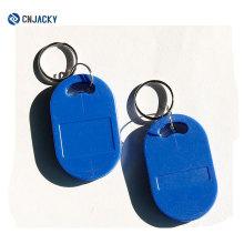 Proveedor chino RFID Transpondedor Llavero Keyfob Etiquetas llaveros
