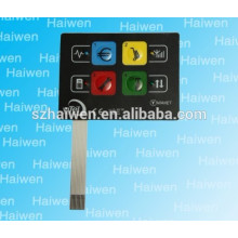 Haiwen membrane switch witch adhesive