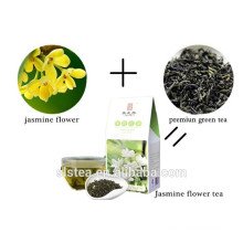 china jasmine tea with good appearance and taste 100% natural