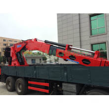 Ouco Truck Crane with Knuckle Boom Heavy Duty Crane