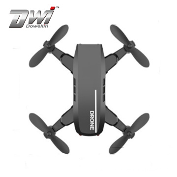 DWI Multi-color selection portable foldable mini rc selfie drone with 480P WIFI camera