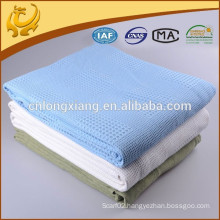 OEM Design Cotton Hospital Blanket With 100% Muslin Cotton Swaddle 1 Layer After Washed