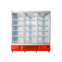 commercial refrigerator equipment display for beverage