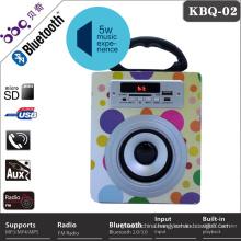 Wholesale led light bluetooth active karaoke speaker