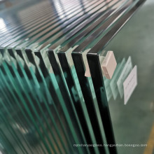 Safety 15mm Ultra Clear Tempered Heat Soak Glass Low Iron Toughened Glass Manufacturer