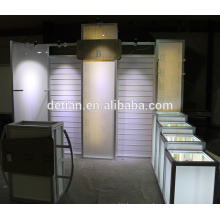 Lighting LED Counter tradshow stands design retail display stands