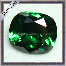 Rectangle Shape Cushion Emerald Cubic Zirconia