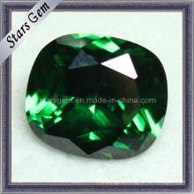 Rectangle Shape Cushion Emerald Cubic Zirconia