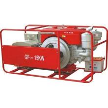Gf1 10kw único cilindro gerador diesel conjunto