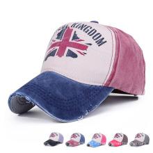 Мода печатных хлопок Саржа Бейсбол Спортивная шапка (YKY3015)