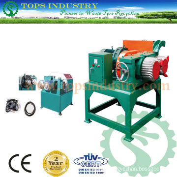 Waste Tire Bead Wire Ring Removing Machine / Debeader / Debeading Machine / Scrap Tire Recycling Machine / Shredding Machine/ Crushing Machine