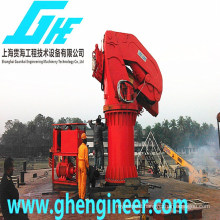 ship deck crane machine