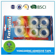 20m*18mm bopp self adhesive tape with custom blister card