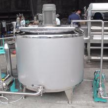 El tanque de mezcla revestido eléctrico del acero inoxidable de 100L 200L 300L con precio del agitador