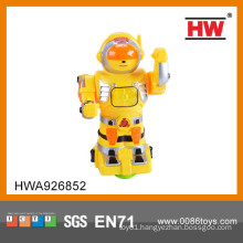 2015 Hot sale funny plastic B/O fighting robot for kids