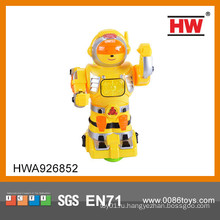2015 Горячие продажи смешно пластиковые B / O боевой робот для детей