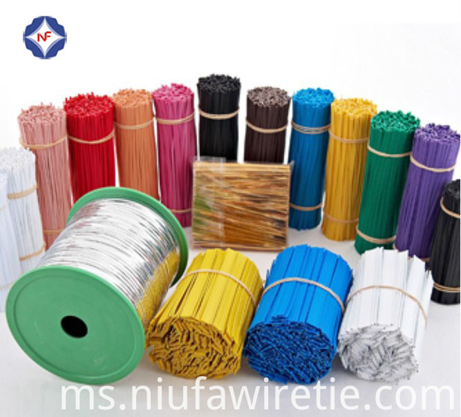 colorful bundled twist wire