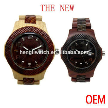 Fashion Hot Sale Wooden Watch, High Quality Wood Watches (Ja15085)