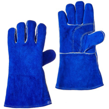 Industrial Welders Working Welding Gloves