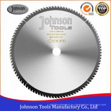 250-500mm Tct Circular vio la cuchilla para el corte de aluminio