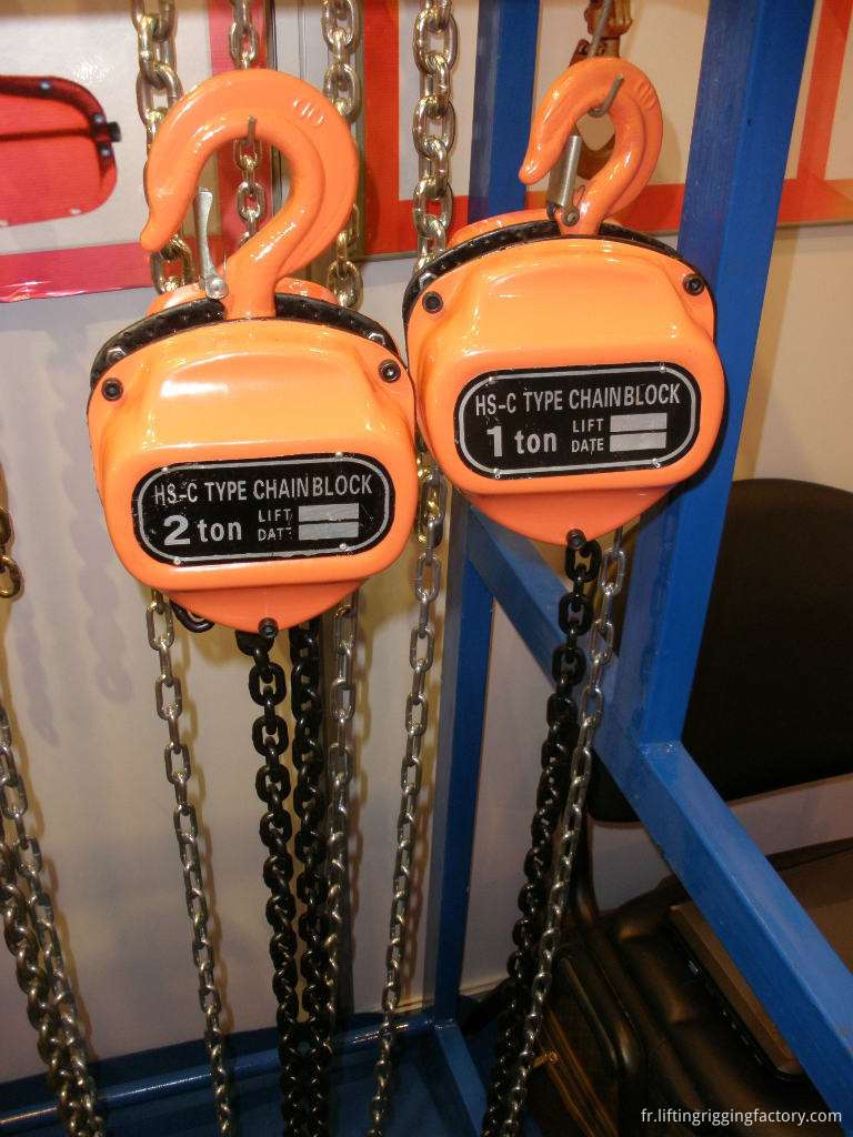 manual chain block hoists