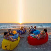 Sofa-lit gonflable gonflable extérieur d'air de sac de couchage d'air de couchage
