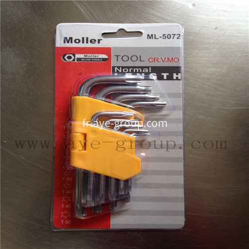 Star head short Hex Key