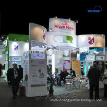 modular and portable acrylic exhibiting stand from shanghai china