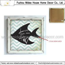 Küche dekorative Tafel für das Verlassen der Mitteilung