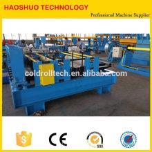 Máquina de corte da bobina de aço de alta velocidade, linha de corte simples