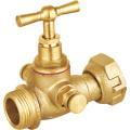 Латунный запорный клапан для воды (a. 7017)