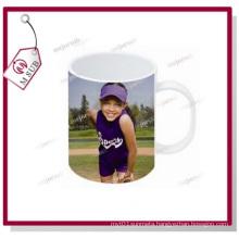 11oz Sublimation Photo Print Melamine White Plastic Mug