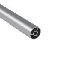 Tuyau en aluminium de tube rond en aluminium extrudé