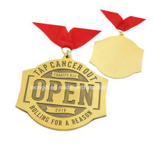 Gold Plated Promotional Custom Cheap Souvenir Medal