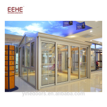 Prefabricated glass conservatory sunroom