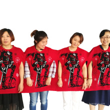 PK18A03YF Unisex Chinesischer Weihnachtsgruppen Pullover
